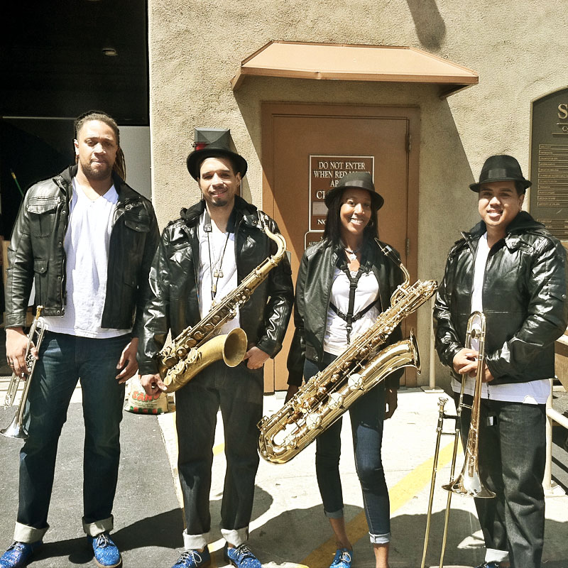 The Voice Horn Section