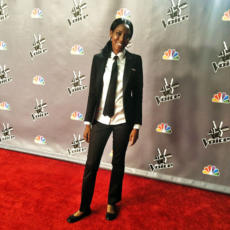 The Voice Red Carpet